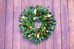 Learn how to make a fresh magnolia wreath with this simple and inexpensive DIY tutorial from Made Remade.