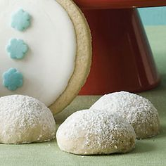 Toasted Pecan Snowballs Cookies Recipe at WomansDay.com- Holiday Cookie Recipes - Delish.com