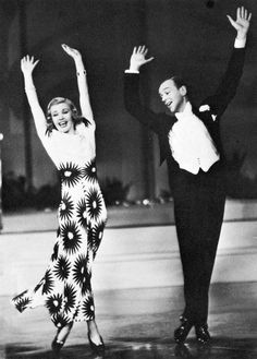 Ginger Rogers and Fred Astaire in Shall We Dance, 1937