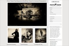 Photo Theme Responsive is a beautiful free GPL WordPress Theme