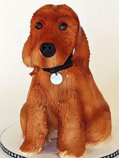 Boston Terrier Dog Cake