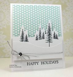 Splitcoaststampers FOOGallery - F4A199, I'm Dreaming of a White Christmas