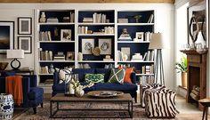 Bookcase idea for Living Room WSHome