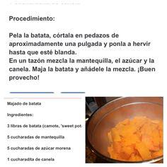 Majado de batata