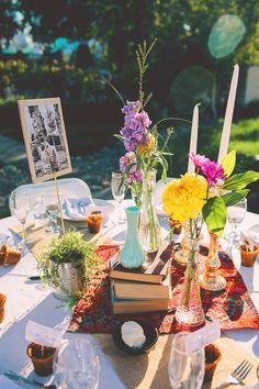 Wedding decor & table tops.