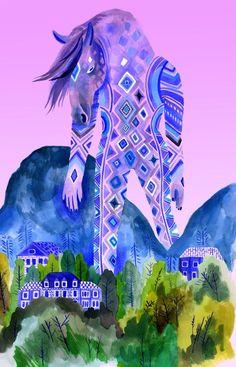 Colossus Horse by Lisa Hanawalt