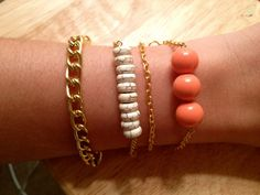The Barcelona Bracelet Trio by elladolce on Etsy. obsessed.