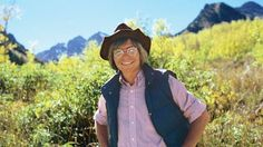 John Denver surrounded by his beloved Rocky Mountains.