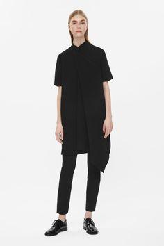 COS Draped layer dress