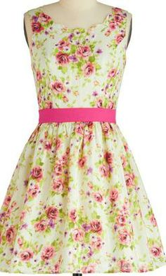 Floral 'Little Miss Daisy' Dress