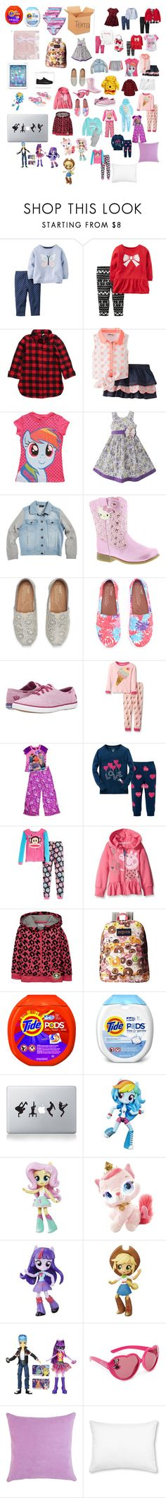 """Terra's"" by armanishaidixon on Polyvore featuring Carter's, NIKE, My Little Pony, Bardot Junior, Hello Kitty, Keds, Disney, Paul Frank, JanSport and Tide"