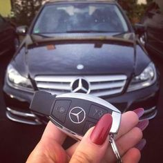 The Benz, and the #LindtTruffles.