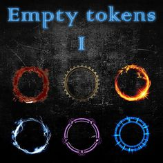 Empty Tokens Pack 1 | A premium selection of all-purpose generic tokens.  https://marketplace.roll20.net/browse/set/654/empty-tokens-pack-1