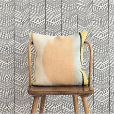 Shop for ferm LIVING Herringbone Wallpaper from Modern Karibou. Choose other household items from the largest online collection of ferm LIVING products in Canada. Herringbone Wallpaper, Wallpaper Living Room, Herringbone, Home Wallpaper, Black And White Wallpaper, Chevron Wallpaper, Geometric Wallpaper, Ferm Living, Room Wallpaper