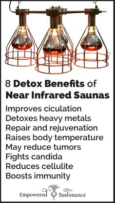 Thorough discussion on how to use a Near Infrared Sauna for detox and wellness #health #detox
