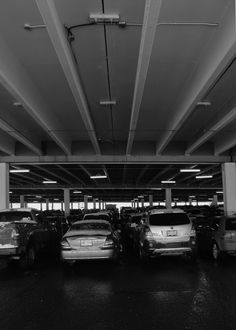 Quick photograph taken in the parkade at the West Edmonton Mall in Alberta, Canada.