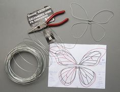 Wing tutorial - can be made child sized with fabric/scraps and fusible webbing, sewing to the frame