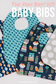 Baby Bib Tutorial _ How to Make a Baby Bib _ Easy Baby Bib _ How to Sew a Baby Bib # diy baby bibs How To Make A Baby Bib Diy Baby Bibs Pattern, Bib Pattern, Baby Clothes Patterns, Burp Cloth Patterns, Baby Applique, Sewing Patterns, Best Baby Bibs, Diy Baby Boy Bibs, Baby Gifts For Boys