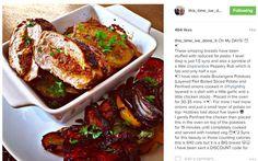 Chicken & veg dishes