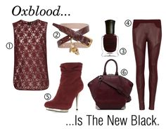 Oxblood is the new black