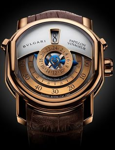 Bulgari - Papillon voyageur something about this that makes me think im in control of the time... back to the future!