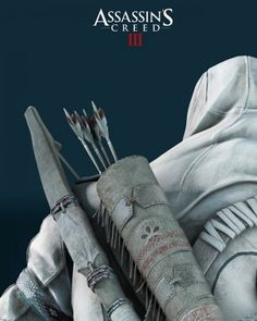 Poster Assassin's Creed 3 Connor de dos