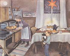 erik-and-the-christmas-horse-illustration2-ilon-wikland | Orange ...