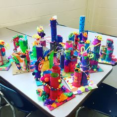Kindergarten sculptures lil_monsters_art