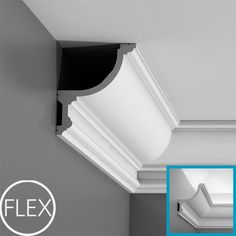 Uplighting in the crown molding, set it just below the ceiling for this effect.