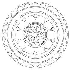 Mandalas and Symbols to Colour » The Buddha Center