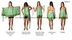 Multi-Wear Wrap - Renaissance by VIDA VIDA OMKBzxv5