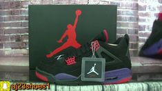e83651587fdad4 Authentic Air Jordan 4 Retro NRG Raptors HD review from aj23shoes net