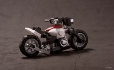 """The sports version of this one. The rear fender clipping allows for a lot of combinations and it's quite interesting how this completely changes the look of the bike.  I just love the proportions and the... """"Matchbox"""" feel.  Front / Side / Rear"""