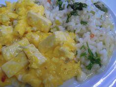Ovos mexidos com requeijão http://grafe-e-faca.com/pt/receitas/ovos-mexidos-com-requeijao/
