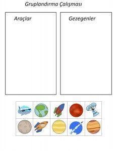 okul_öncesi_uzay_gruplandırma Preschool, Space, Astronomy, Floor Space, Kid Garden, Kindergarten, Preschools, Kindergarten Center Management, Spaces