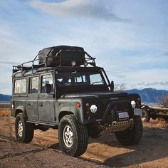 MEGADELUXE - We scored a Land Rover Defender 110 for our trip...