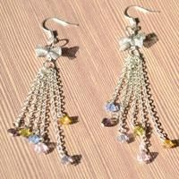 Design Your Own Jewelry- How to Make Tassel Earrings Using Beads and Chain