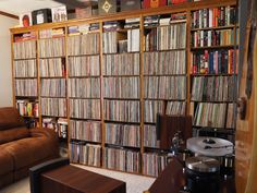 Nice looking record collection