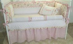 Babygirl crib bedding set Crib Bedding Sets, Cribs, Toddler Bed, Furniture, Home Decor, Cots, Child Bed, Bassinet, Crib