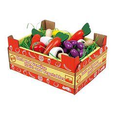 Legler - 2020738 - Jeu D'imitation - Commerçant - Jouets Cageot De Légumes: Amazon.fr: Jeux et Jouets