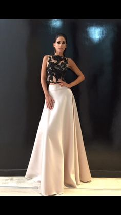 The Long Maxi Skirts Are Fashionable To wear This Autumn - Winter!!! In Todays Post We Would Like To Show The Best Way To Wear The Maxi Skirt With Super Top Haute Couture Creation FW/2017'18 NV by Nektarios Vazakopoulos!!!