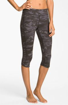 Free shipping and returns on Alo 'Practice' Capris at Nordstrom.com. Smooth flat seaming creates a consciences fit to compliment your mindful practice while the earthy camouflage appeases the trends.