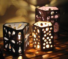 candle votives - slab building