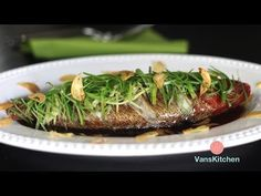 Steamed fish with ginger and green onion - InstantPot Recipe (Cá hấp hành gừng) - YouTube
