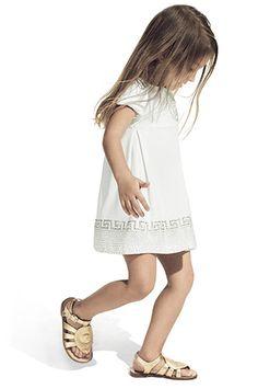 Young Versace vêtements mode fille logo méduse collection printemps-été 2013