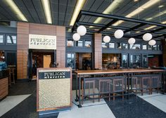 Where to Eat at Chicago O'Hare International Airport (ORD) Great American Bagel, Garrett Popcorn Shops, Ohare Airport, Thai Iced Coffee, Chicago Airport, O'hare International Airport, Airport Food