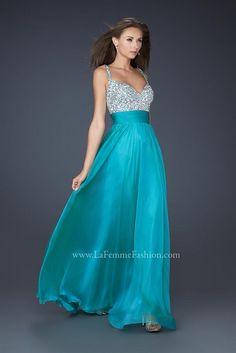 Colección de Vestidos de Fiesta de La Femme 2012