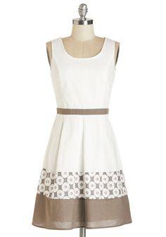 Cute Dress for a Summer Bridal #Shower
