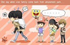 Vixx VIXX Vixx family N Leo Ken Ravi Hongbin Hyuk