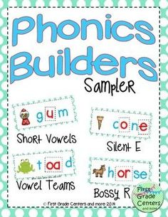 Free- Phonics Builders Sampler
